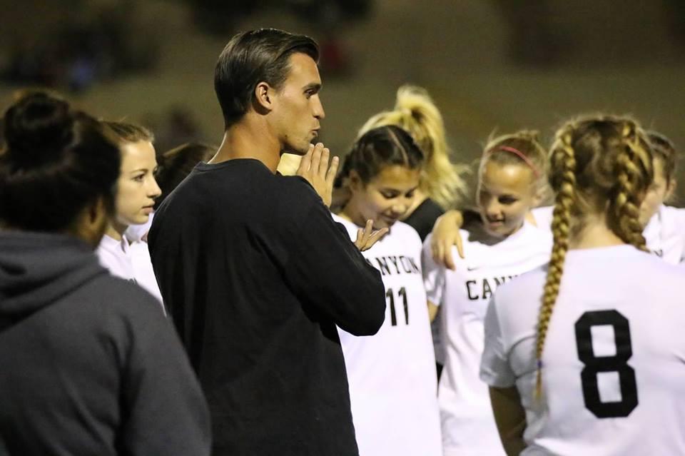 Coach Pedro Santos Resigns as Canyon's Head Girls Soccer Coach