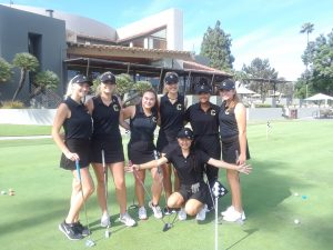 2018 Girls Varsity Golf vs Crean Lutheran HS at TRGC on Aug 28