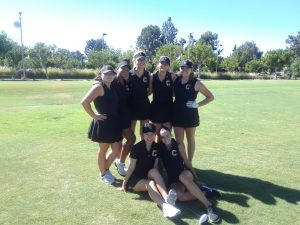 2018 Girls Varsity Golf vs Foothill HS at TRGC on Aug 29