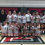 JV Girls' Volleyball wins Tustin High Tournament