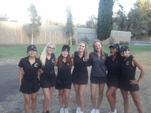 CHS Girls Varsity Golf vs Villa Park HS at GRGC on Sept 10