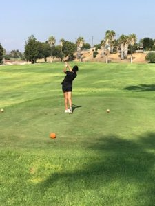 Canyon Girls JV Golf vs. Orange Lutheran – Brea Creak GC