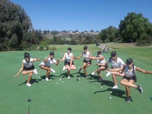 CHS Girls Varsity Golf vs Brea Olinda HS at AHGC on Sept 11
