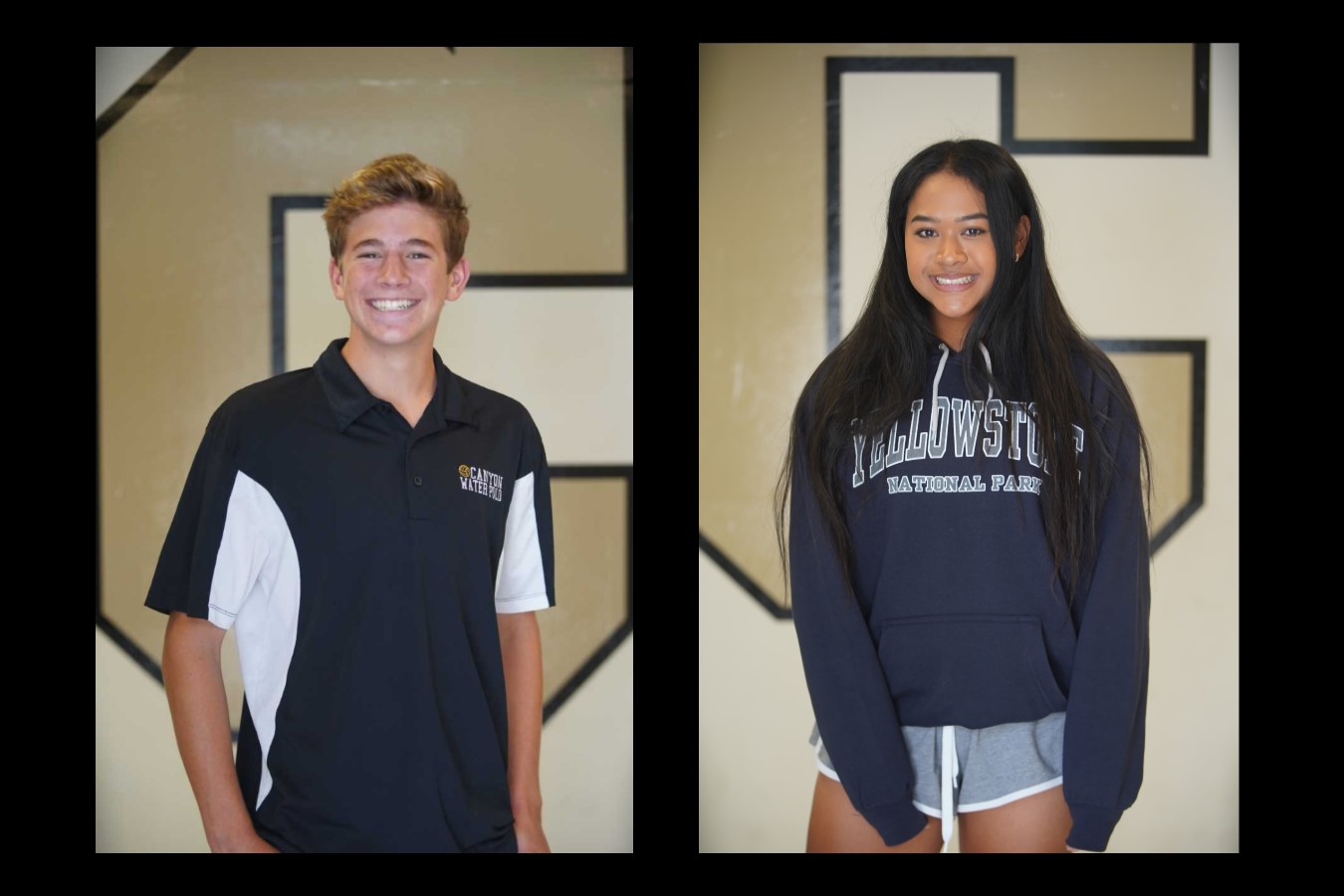 Canyon ASB Athletes of the Month