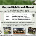 Calling ALL Staff and Student Alumni
