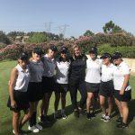 Girls Junior Varsity Golf beats Yorba Linda 286 – 294