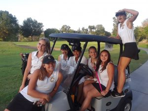 CHS Girls Varsity Golf vs Yorba Linda HS at Anaheim Hills G.C. on Sept 20