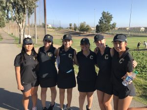 CHS JV Girls Golf vs El Dorado at Birch Hills GC on Sept 24