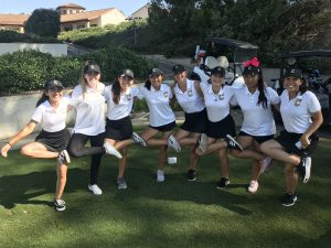 CHS JV Girls Golf vs El Dorado at AHGC on Sept 27