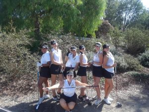 CHS Girls Varsity Golf vs El Dorado HS at Anaheim Hills G.C. on Sept 27