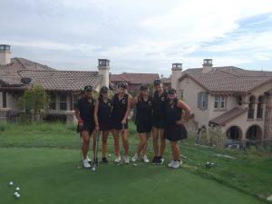 CHS Girls Varsity Golf vs Esperanza HS at Black Gold G.C. on Oct. 1