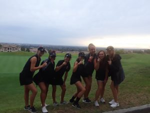 CHS Girls Varsity Golf vs Yorba Linda HS at Black Gold G.C. on Oct. 3