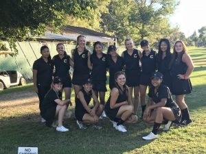 CHS Girls JV Golf vs. El Modena at Riverview GC on Oct. 4