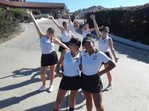 CHS Girls Varsity Golf vs Esperanza HS at Anaheim Hills G.C. on Oct. 9