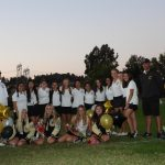 Girls Varsity Golf beats El Modena 219 – 273 and goes UNDEFEATED in The North Hills League to win their first league title in 6 seasons