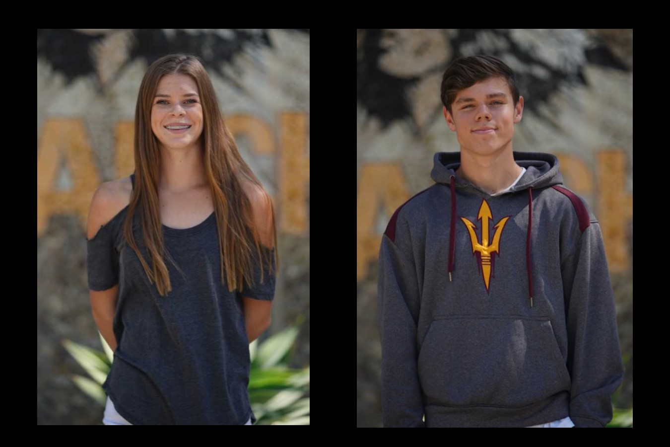 September Athletes of the Month: Emma Hadley and Joey Rouly