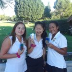 Congratulations to Varsity CHS Girls Golfers Audrey Shin, Danica Ridge, & Kayla Sam for making it to Round 1 of CIF Individuals