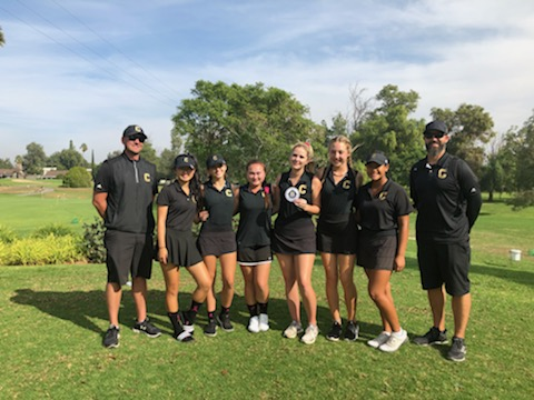 Congratulations to the CHS Varsity Girls Golf Team at qualifying for the 2018 CIF Team Championships