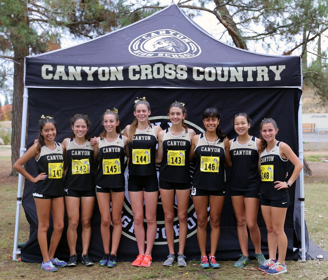 Canyon's Girls' Cross Country Team Earns 7th Place Finish at State Meet
