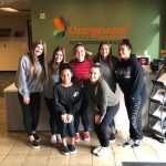 CHS Cheer & Ralphs team up for Orangewood food drive
