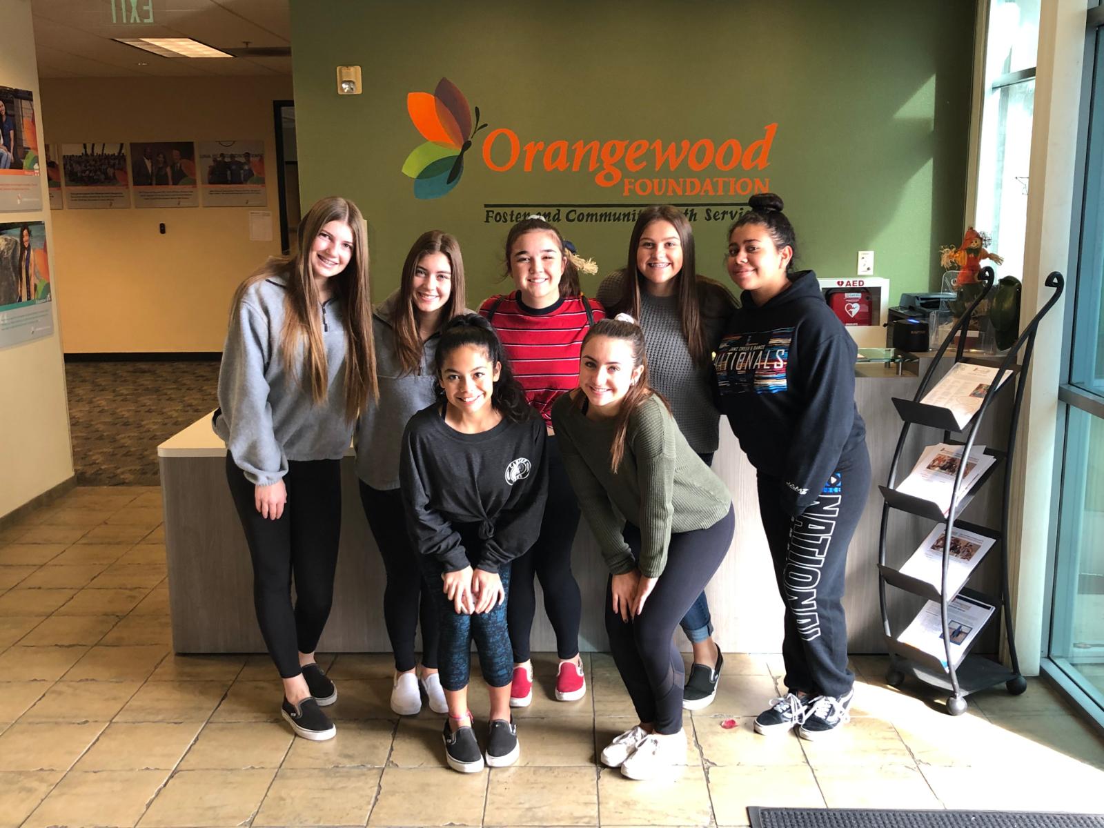 CHS Cheer & Ralphs team up for Orangewood food drive