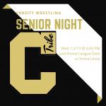 Wrestling Senior Night is December 19