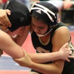 Girls Wrestling Lady Comanches place at League Finals