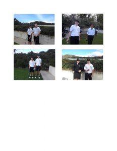 Boys JV Golf vs. Servite at A.H.G.C. on 2/28/19