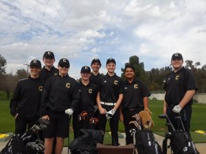 Boys JV Golf vs. Servite at W.H.C.C. on 3/5/19