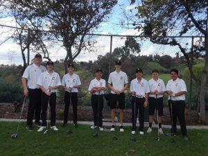 Boys JV Golf vs. Villa Park at A.H.G.C. on 3/7/19