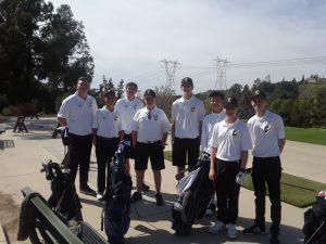 Boys JV Golf vs Brea Olinda H.S. @ AHGC Mar 19