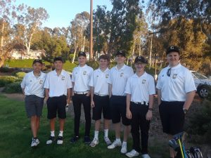 Boys JV Golf vs El Dorado H.S. @ AHGC Mar 28