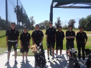 Boys JV Golf vs Beckman H.S. @ AHGC Apr 10