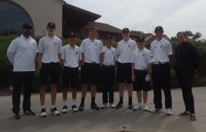 Boys JV Golf vs Yorba Linda H.S. @ AHGC Apr 11