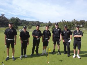 Boys JV Golf vs Crean Lutheran H.S. @ CDSGC Apr 15