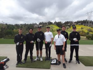Boys JV Golf vs Beckman @ AHGC Apr 16