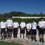 Boys Junior Varsity Golf beats Crean Lutheran 222 – 239