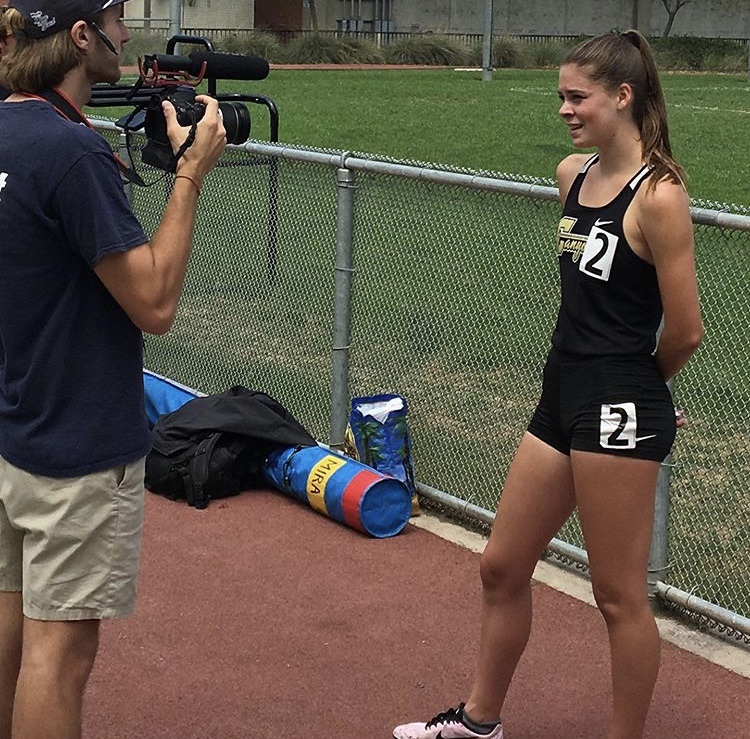 Hadley Captures 1600m Victory; Porter and Frisone join her at CIF-SS Masters Championships