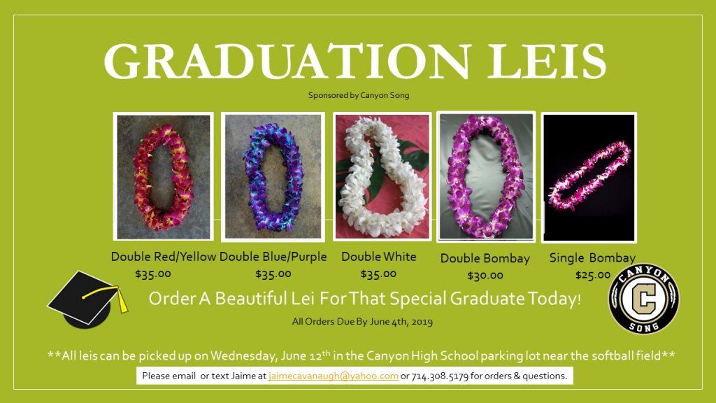 Graduation Leis for sale