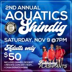 Save the Date: 2nd Annual Aquatics Shindig Fundraiser