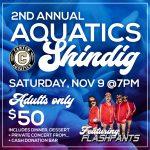 Save the Date: 2nd Annual Aquatics Shindig Fundraiser