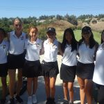 Girls Varsity Golf beats El Modena 247 – 252