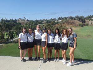 Canyon Varsity Girls Golf vs. Brea Olinda at AHGC on Sept 24