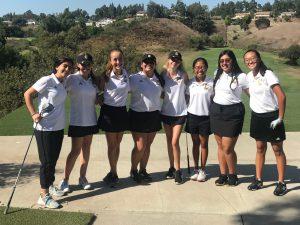 CHS Girls JV Golf vs Brea @ AHGC 9/24