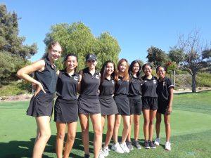 Canyon Varsity Girls Golf vs. Brea Olinda High School at Westridge Golf Course on Oct. 2, 2019