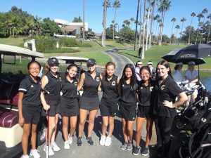 Canyon Varsity Girls Golf vs. Crean Lutheran High School at Tustin Ranch Golf Course on Oct. 8, 2019