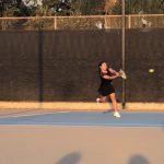 Girls Junior Varsity Tennis beats Villa Park 78 – 77