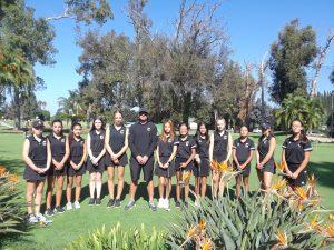 Canyon Varsity Girls Golf vs. El Modena High School at Riverview Golf Course on Oct. 17, 2019