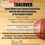 Comanches vs SGA Staples Center Takeover Event January 2, 2020