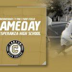Boys Varsity Soccer Game this Wednesday 7PM